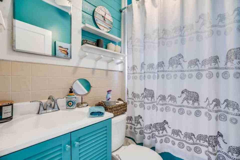 Succulent House Bathroom - Small Bathroom Organization