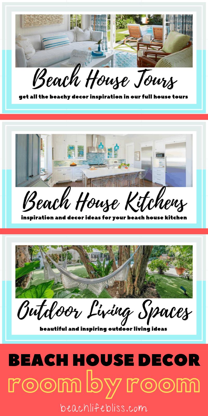 Beach House Decor For Every Room