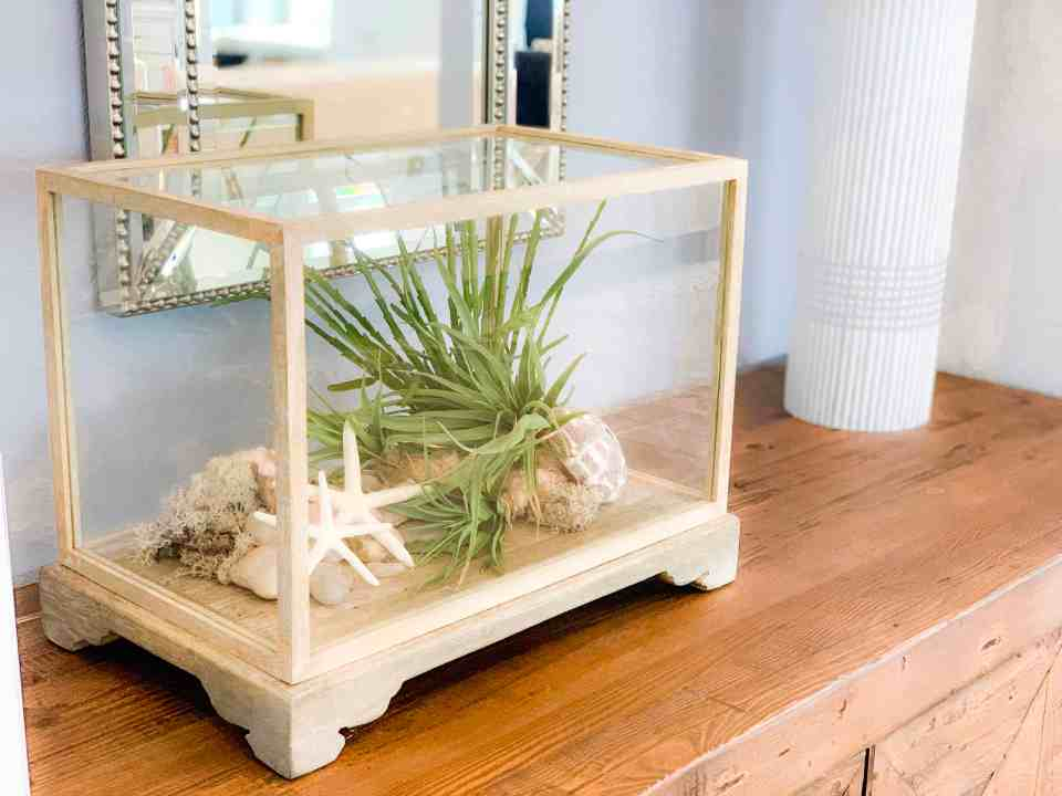 Beach Walk House Tour - Coastal Chic Design and Decor Ideas - glass decor