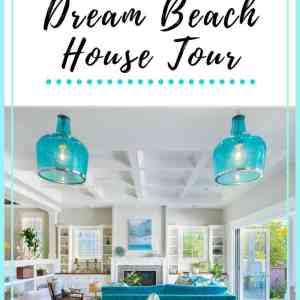 Blue Coastal Dream Beach House Tour