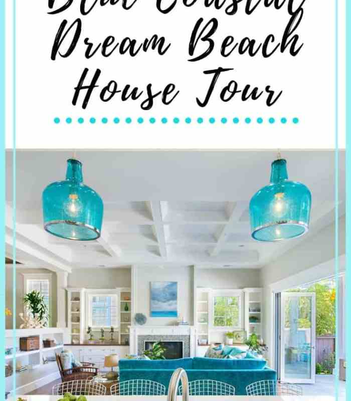 Blue Coastal Dream Beach House Tour