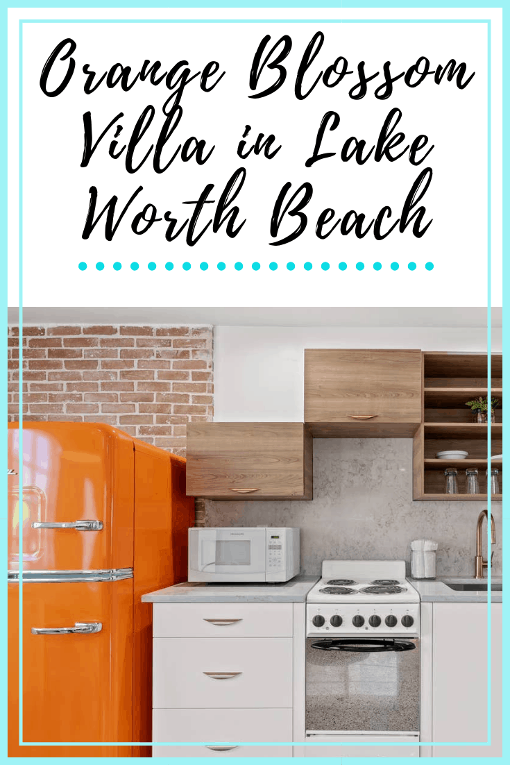 Orange Blossom Villa AirBnb Lake Worth Beach Pin