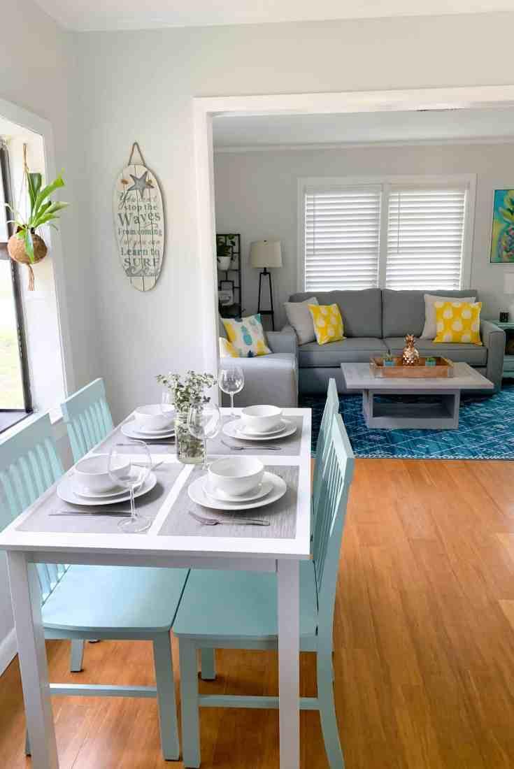 Beach Life Bungalow Kitchen Table