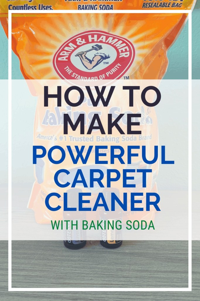How To Make Powerful Carpet Cleaner With Baking Soda - DIY Cleaning Ideas To Make At Home - Cleaning With Baking Soda and Essential Oils
