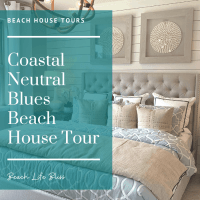 Beautiful Home Design With Subtle Beach Blues - Coastal Neutral Interior Design