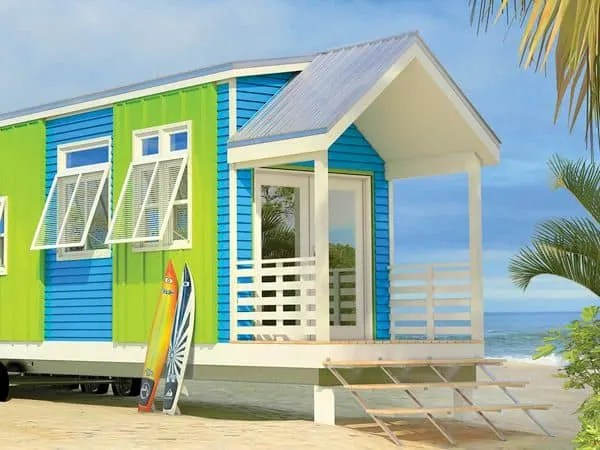 Colorful Tiny Cottage
