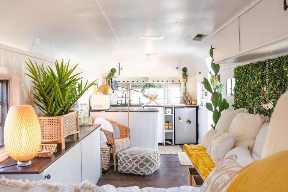 Bohemian Style Interior Design Tiny House
