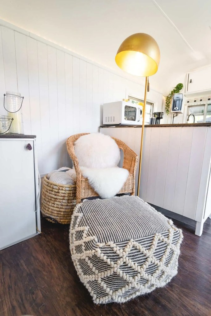 Reading Nook - Bohemian Style Interior Design Tiny House
