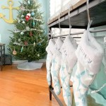 Blue And White Coastal Inspired Christmas Tree Ideas For 2020