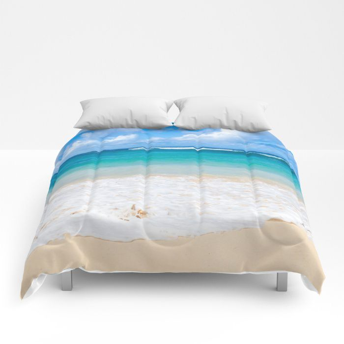 Hawaiian Paradise comforter ocean sea bedding beach coastal style full king queen sizes