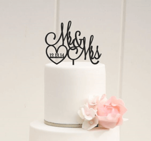 Wedding Cake Topper - Maui Wedding Planners