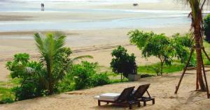 Naiyang Beach Phuket during low season