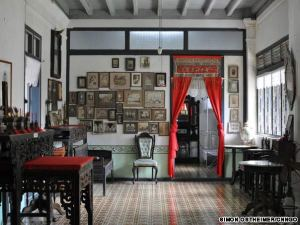 The interiors of Chinpracha Mansion in Old Phuket Town