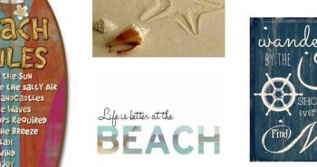 Examples of beach poetry and quotes
