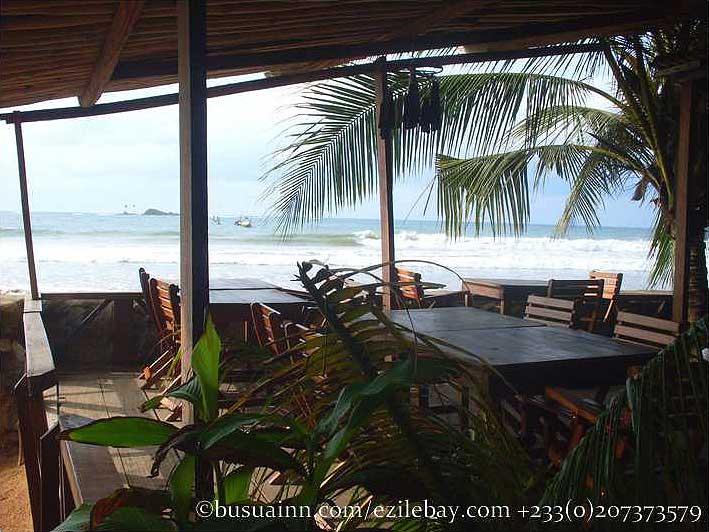 Busua Inn Ghana Beachfront Restaurant