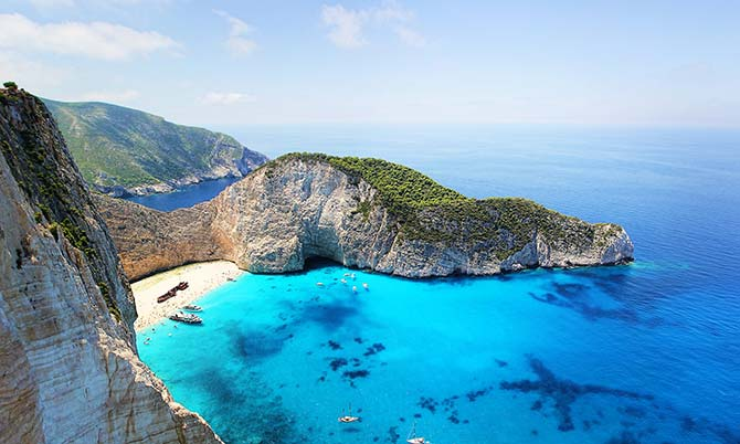 Stunning Greek bay