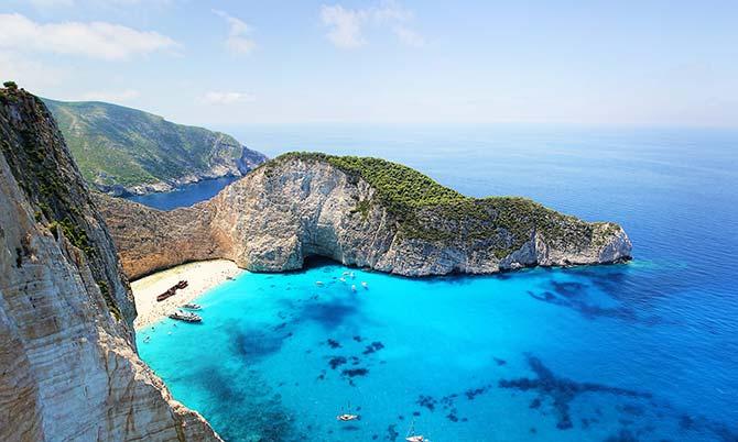 Stunning Greek bay