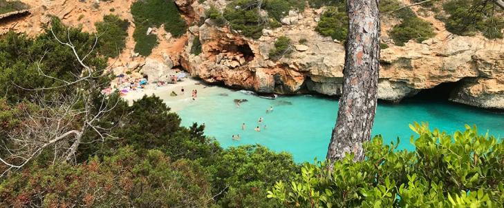 Calo Des More one of the best among Mallorca's beaces