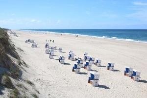 Sylt beach chairs Germany