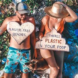 Beach Cleaning of plastic and debris
