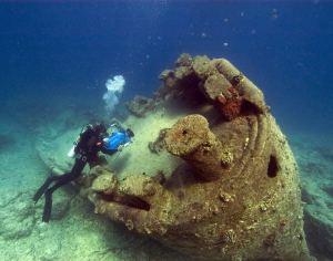 wreck diving Thailand