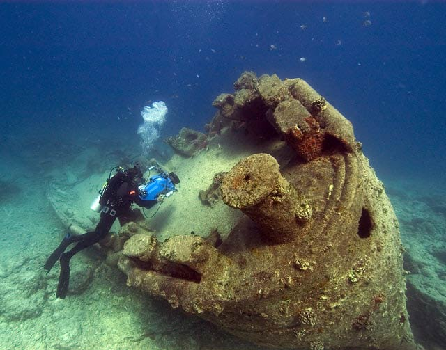 wreck diving Thailand