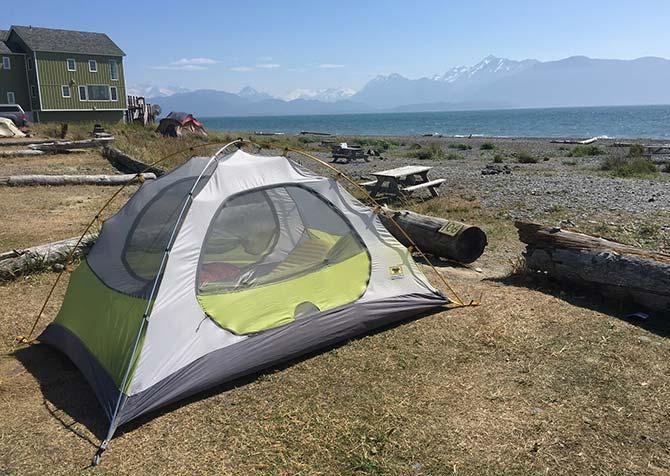 Homer Spit Beach Camping