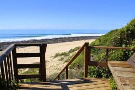 Beach Music, Beachfront Guesthouse, Jeffreys Bay, South Africa, Beach access