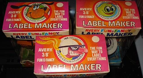 AveryFunandFancyLabelMakerTops