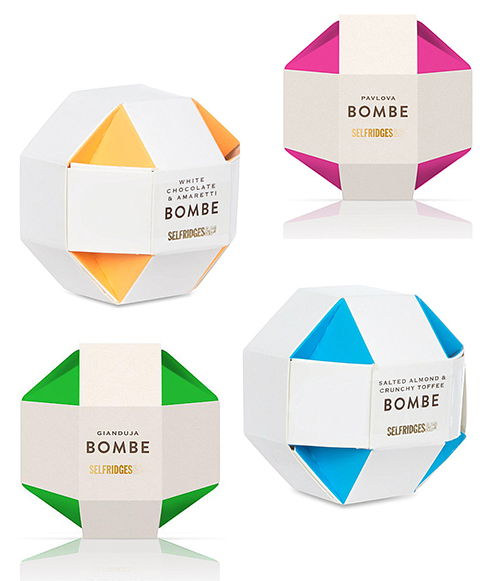 Selfridges Bombe Package Design