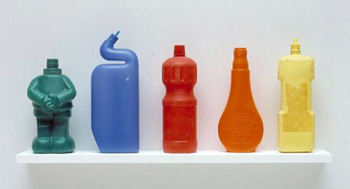 TonyCragg-Bottles-on-a-shelf3