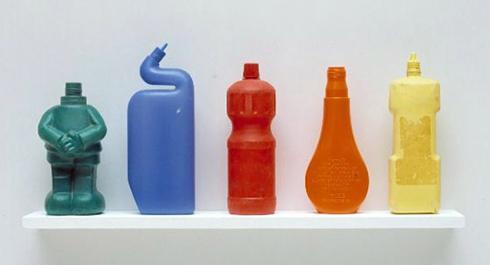 TonyCragg-Bottles-on-a-shelf3
