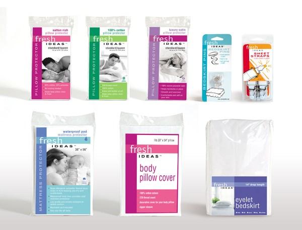 FreshIdeas brand package design