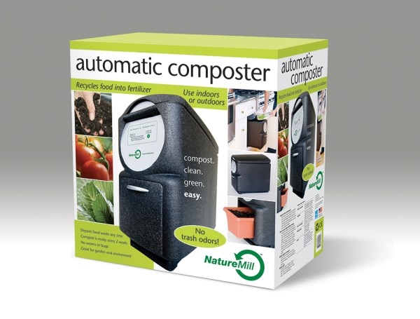 NatureMill appliance carton design