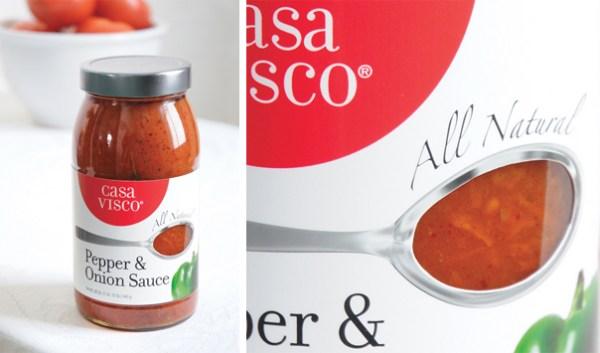 casa visco food rebranding