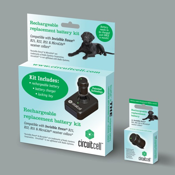 Circuit Cell PetBattery branding and package design