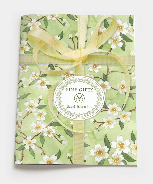 Scentsations-catalog design cover
