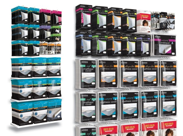Solutions Planograms home textiles branding