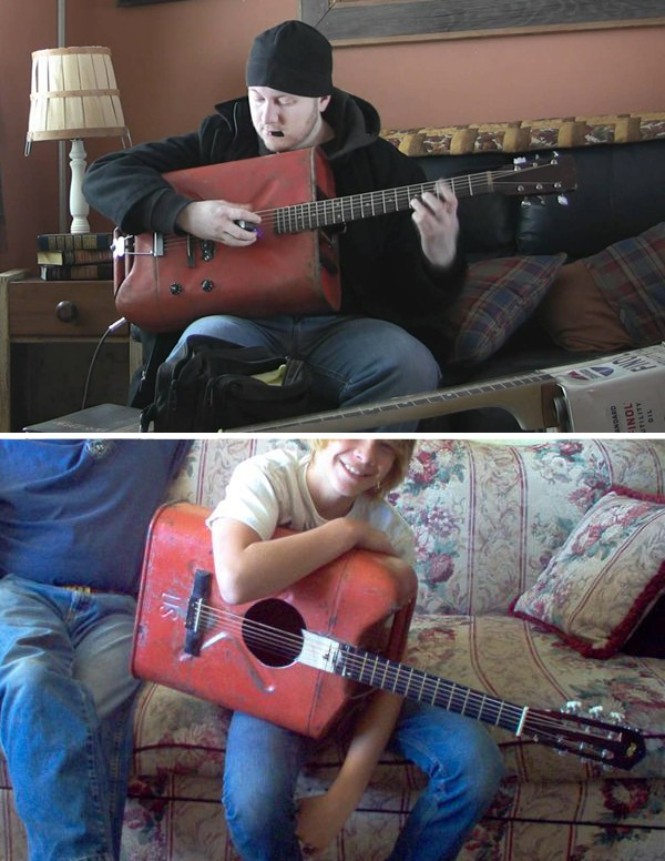 Red-USA-Jerrycan-guitars-couch