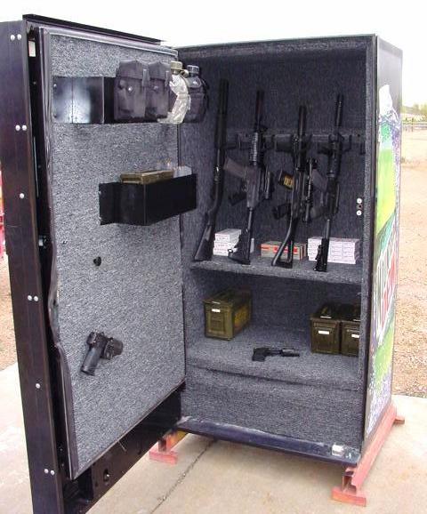 Mountain Dew Machine Gun Safe