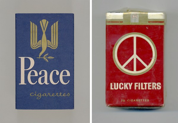 Peace Cigarettes & Lucky Filters Peace Pack
