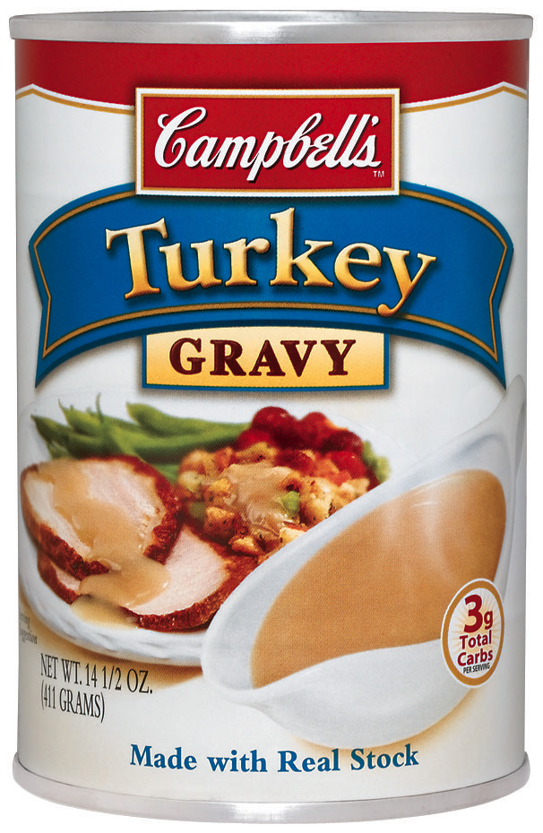 Camp turkey gravy