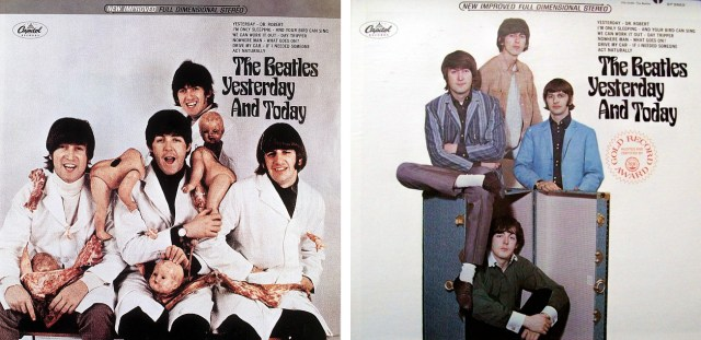 Resultado de imagen de The Beatles – Yesterday and Today original album cover