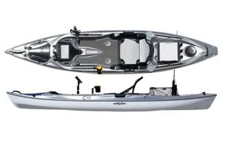 eddyline yakattack fishing kayak review