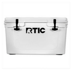 White RTIC 45 rotomolded cooler
