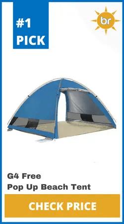 G4Free Pop Up Beach Tent