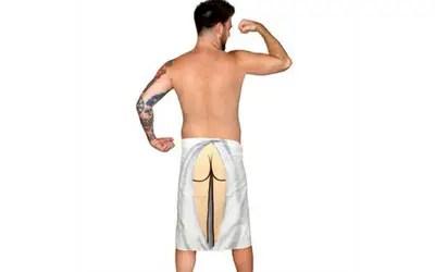 Hilarious Beach Butt Towel