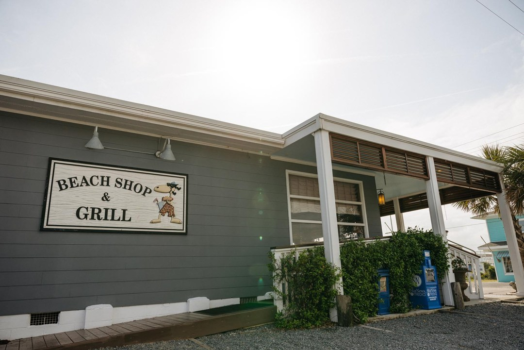 Outside the Beach Shop & Grill