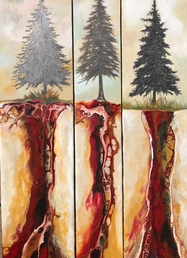 triptych - Jenna Westphal