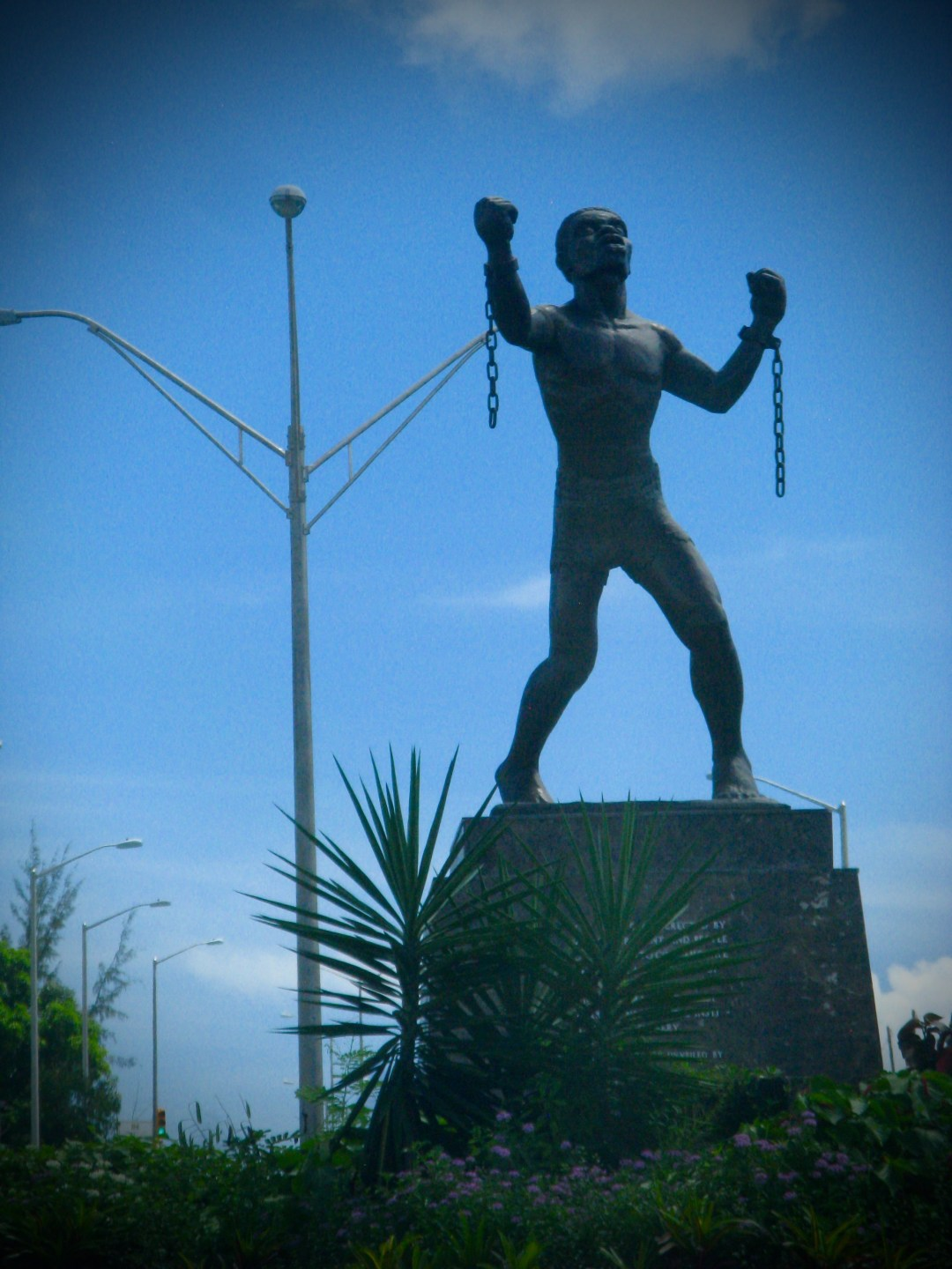 Statue of Bussa - Slave Rebel Leader